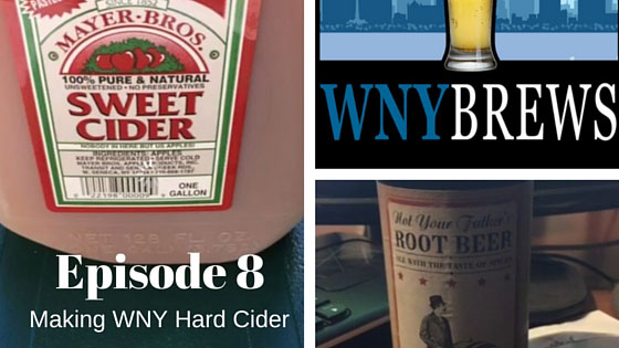 Episode 8: Making a WNY Hard Cider!