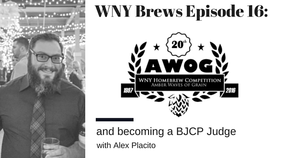 Episode 16: AWOG and BJCP Judging with Alex Placito