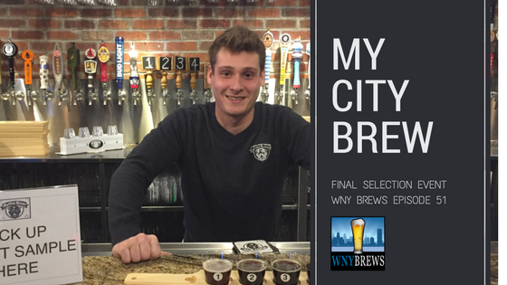 My City Brew Final Selection Event
