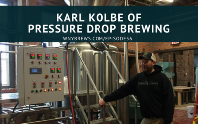 Karl Kolbe of Pressure Drop Brewing